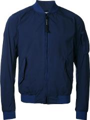 Cp Company , Arm Pocket Bomber Jacket Men Nylon 46, Blue