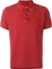 Cp Company , Fitted Polo Top Men Cotton Xl, Red