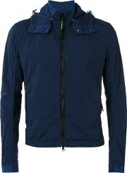Cp Company , Goggle Jacket Men Polyimide 54, Blue