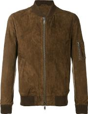 Desa Collection , Bomber Jacket Men Cottonleather 52, Brown