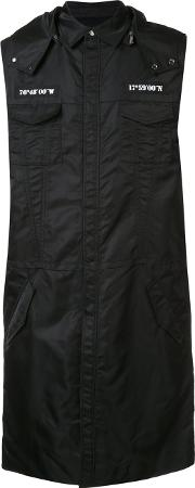 Dgnak , D.gnak Sleeveless Raincoat Men Nylon 52, Black