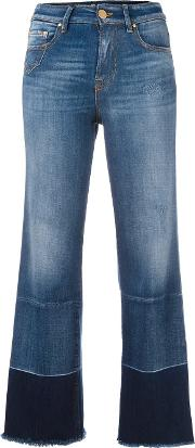 Dont Cry , Don't Cry 'palazzo' Jeans Women Cottonspandexelastanepolyester 30, Blue