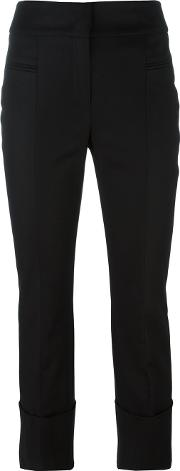 Dorothee Schumacher , Slim Fit Trousers Women Cottonspandexelastaneacetateviscose 4, Black