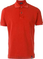 Drumohr , Polo Shirt Men Cotton Xl, Red