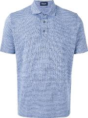 Drumohr , Striped Polo Shirt Men Cottonlinenflax M, Blue