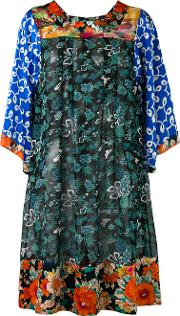 Duro Olowu , Patterned Shift Dress Women Silk 10