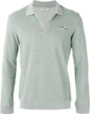 Editions Mr , Editions M.r Terry Knit Polo Shirt Men Cotton S, Green