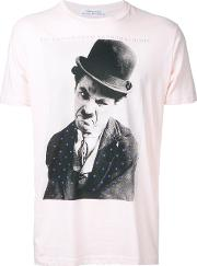 Education From Youngmachines , Charles Chaplin T Shirt Men Cotton 1, Pinkpurple