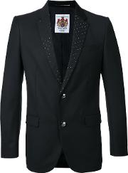 Education From Youngmachines , Classic Blazer Men Polyesterrayon 3, Black