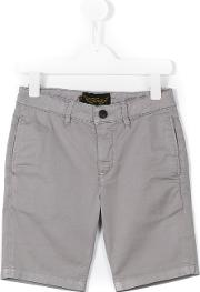 Finger In The Nose , Casual Shorts Kids Cottonspandexelastane 10 Yrs, Grey