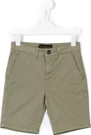 Finger In The Nose , Chino Shorts Kids Cottonspandexelastane 4 Yrs, Green