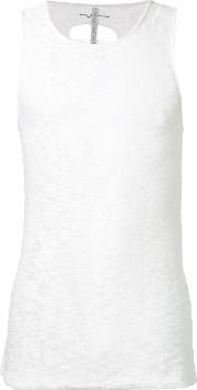 First Aid To The Injured , Fascia Tank Top Unisex Cottonlinenflax 3, White