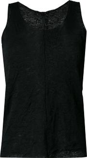 Forme Dexpression , Forme D'expression 'double Knit' Tank Top Women Cottonlinenflax M, Black