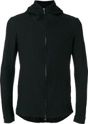 Forme Dexpression , Forme D'expression Hooded Zip Through Jacket Men Cottonlinenflax M, Black