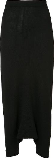 Forme Dexpression , Forme D'expression Knitted Trapeze Pants Women Virgin Wool M, Black