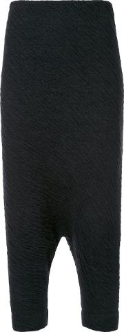 Forme Dexpression , Forme D'expression 'trapez' Tapered Trousers Women Nylonwoolalpaca M, Black