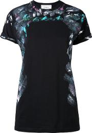 Forte Couture , Printed T Shirt Women Cotton M, Black