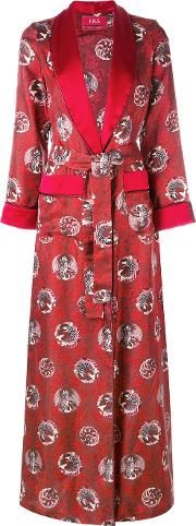 Frs For Restless Sleepers , F.r.s For Restless Sleepers Bia Pyjama Dress Women Silk M, Red