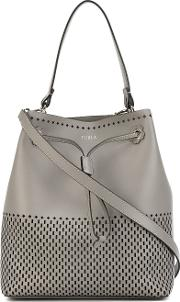 Furla , 'stacy S' Hobo Bag Women Leather One Size, Grey