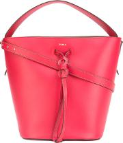 Furla , Top Handle Tote Women Leather One Size, Women's, Red