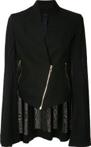 Gareth Pugh , Zipped Jacket Women Cotton 46, Black