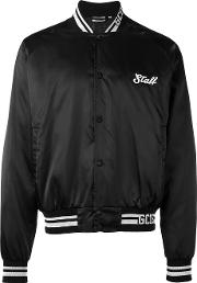 Gcds , 'get High' Print Bomber Jacket Men Polyamidepolyester S, Black