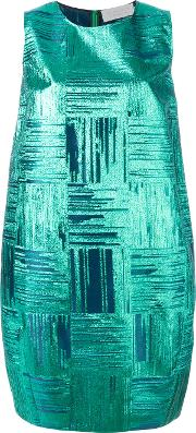 Gianluca Capannolo , Sleeveless Dress Women Silkpolyamidepolyester 42, Green