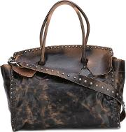 Giorgio Brato , Stud Embellished Tote Women Leather One Size, Women's, Brown
