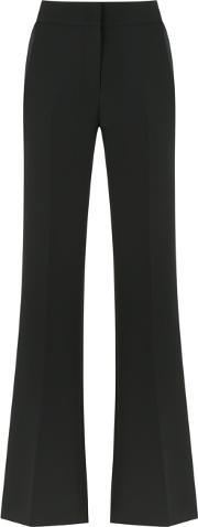 Giuliana Romanno , Flared Trousers Women Polyester 38, Black