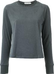 Giuliana Romanno , Long Sleeves Top Women Cotton G, Grey