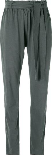Giuliana Romanno , Pleated Trousers Women Cotton G, Grey