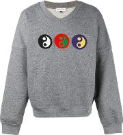 Gosha Rubchinskiy , Yin Yang Sweatshirt Men Cotton S, Grey