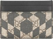 Gucci , Gg Caleido Cardholder Men Leather One Size, Black