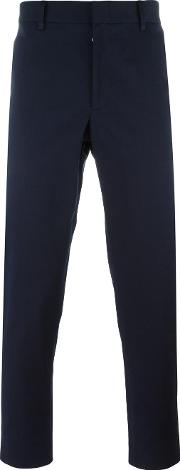 Gucci , Tailored Trousers Men Cottonspandexelastane 52, Blue