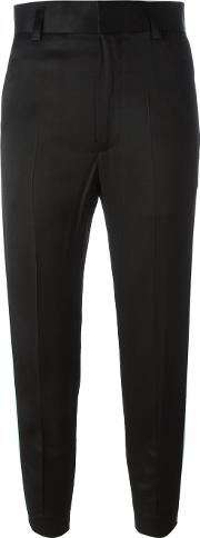 Haider Ackermann , 'heracleum' Cropped Trousers Women Cottoncuproviscose 38, Black