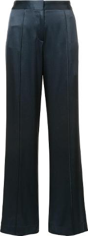 Hellessy , 'alton' Trousers Women Silk 6, Women's, Blue