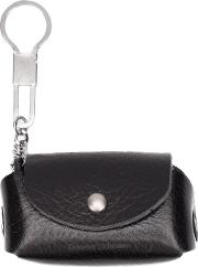 Hender Scheme , Coin And Key Holder Unisex Leather One Size, Black