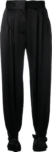 Hillier Bartley , Tapered Trousers Women Silkviscose 6, Black