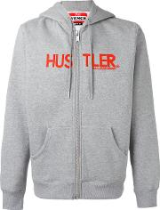 Hood By Air , Hooded Sweatshirt Unisex Cottonpolyester S, Grey