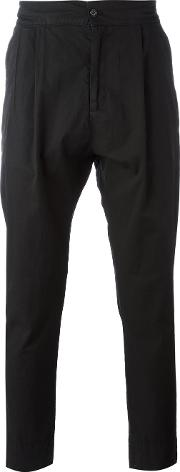 Hope , Tapered Classic Fit Trousers Men Cotton 52, Black