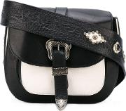 Htc Hollywood Trading Company , Rough Rock Mini Satchel Women Leather One Size, Black