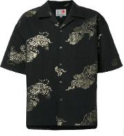 Ikiji , Gilt Shirts Men Cottonlinenflax L, Black