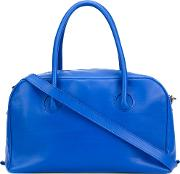 Isaac Reina , 'bond' Tote Women Calf Leather One Size, Blue