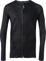 Isaac Sellam Experience , Panelled Jacket Men Leather L, Black