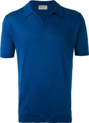 John Smedley , Noah Polo Shirt Men Cotton Xl, Blue