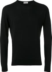 John Smedley , V Neck Sweater Men Cotton Xxl, Black