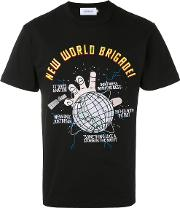 Joyrich , New World T Shirt Men Cotton L, Black