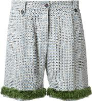 Jupe By Jackie , Tile Pattern Shorts Women Linenflax S