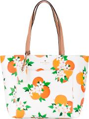Kate Spade , Floral Print Tote Women Leather One Size