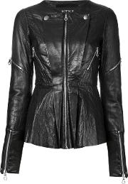 Kitx , Flower Jacket Women Leather 10, Black